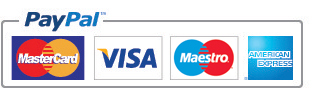 We accept payment using: